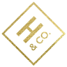 Holden and Company gold foil logo