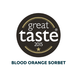Awards Logo for Blood Orange Sorbet
